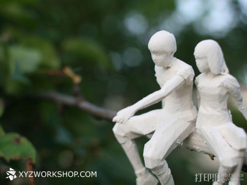 圣诞树装饰品:圣诞老人 3D模型  图7