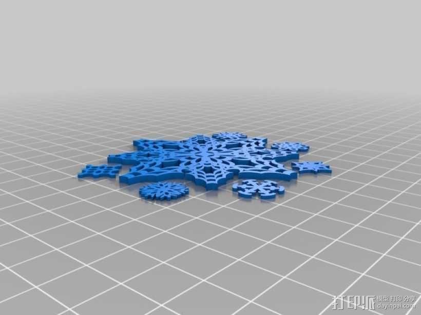 迷你风铃形装饰品 3D模型  图5