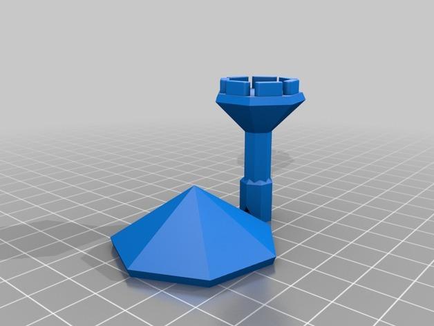 迷你陀螺 3D模型  图3