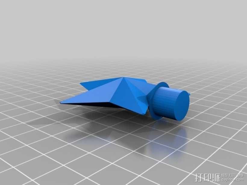 迷你圣诞树 3D模型  图2