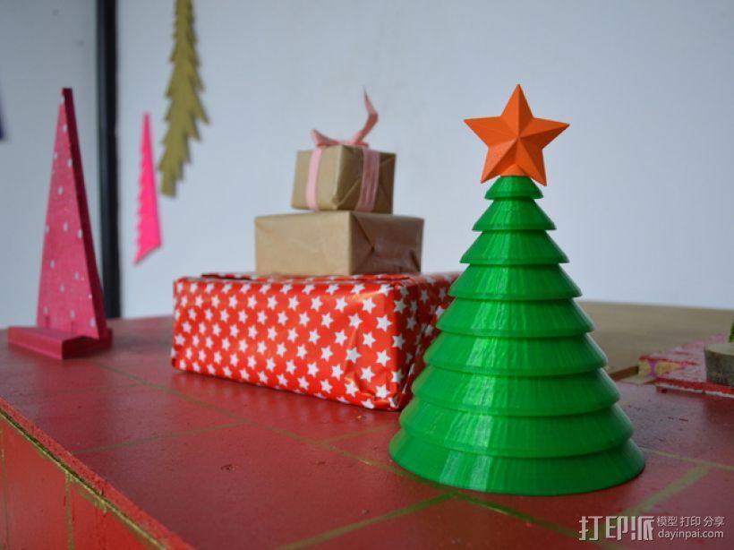 迷你圣诞树 3D模型  图1