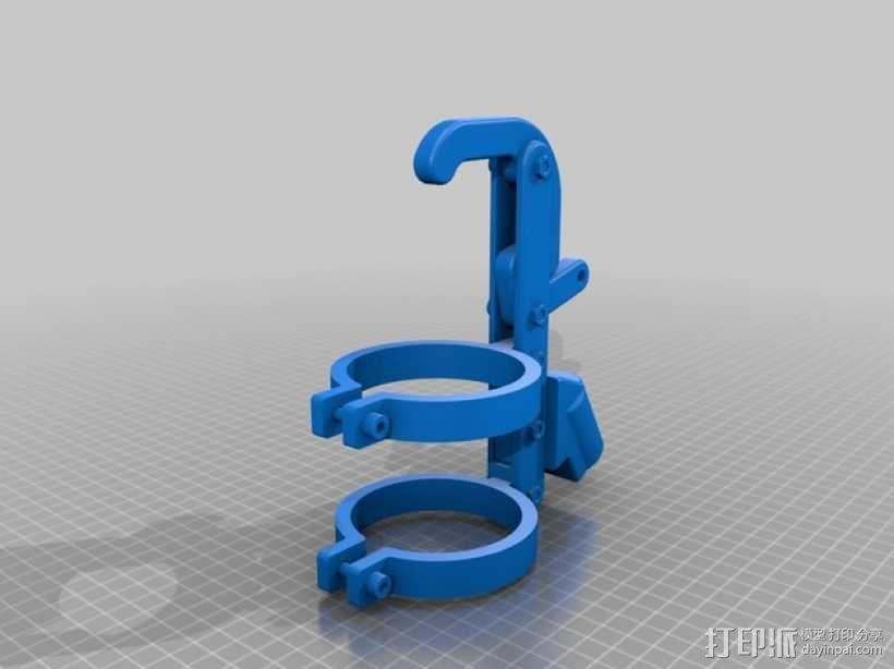 喷雾罐把手 3D模型  图3