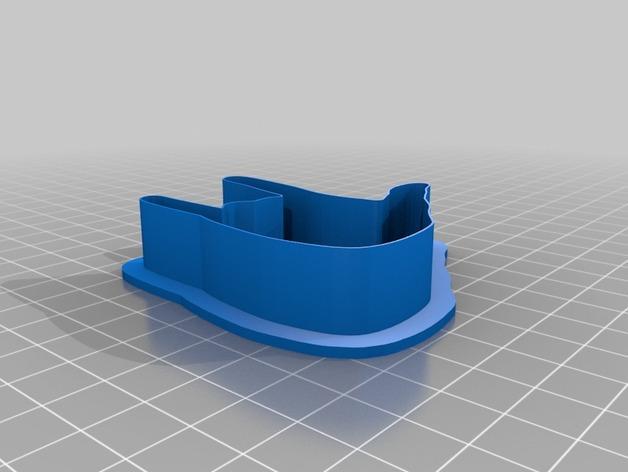手势形饼干模具切割刀 3D模型  图8