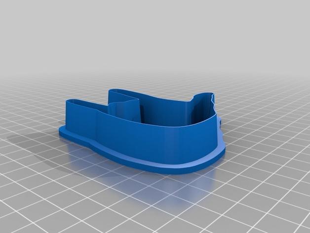 手势形饼干模具切割刀 3D模型  图11