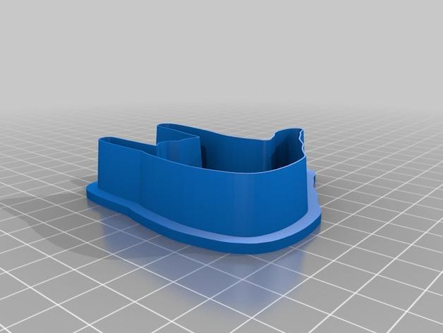 手势形饼干模具切割刀 3D模型  图10