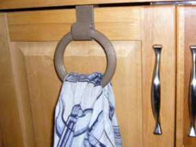 平板门毛巾架 3D模型