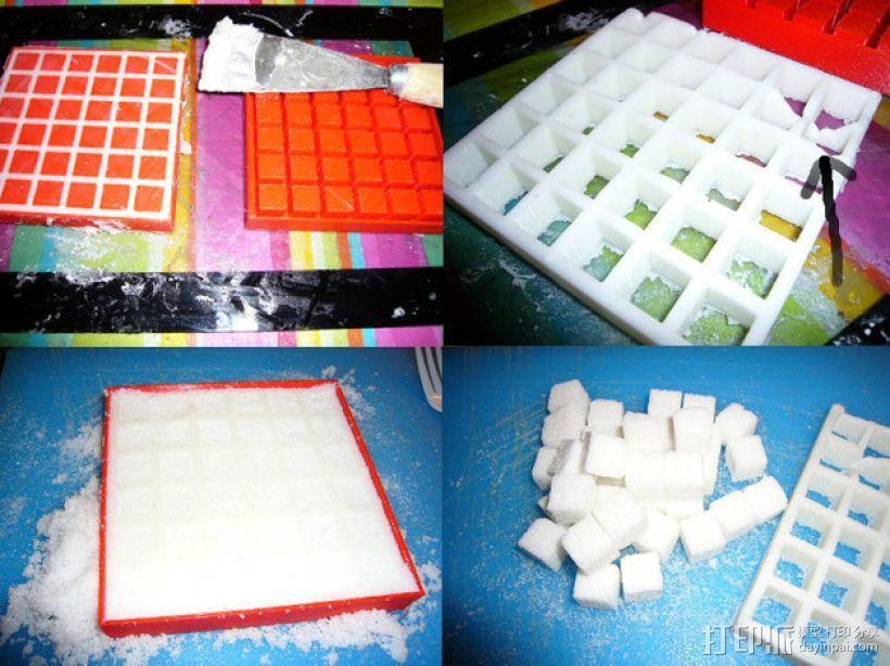 方糖制作模具 3D模型  图1