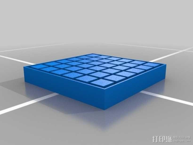 方糖制作模具 3D模型  图2