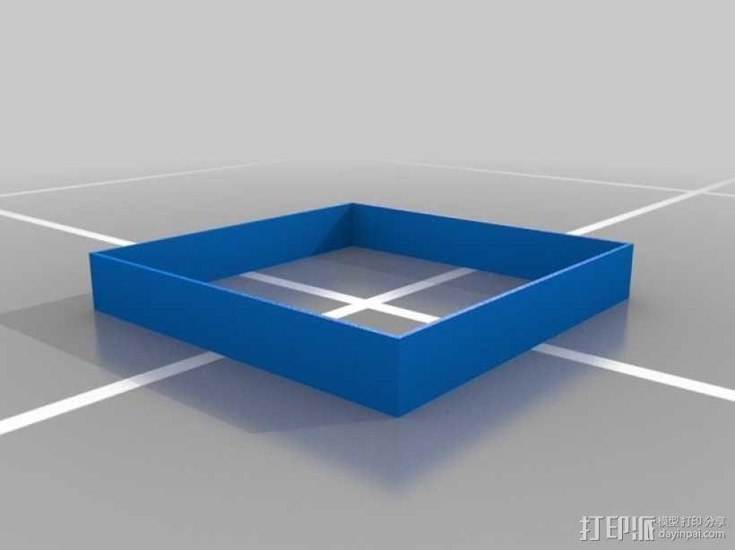 方糖制作模具 3D模型  图3