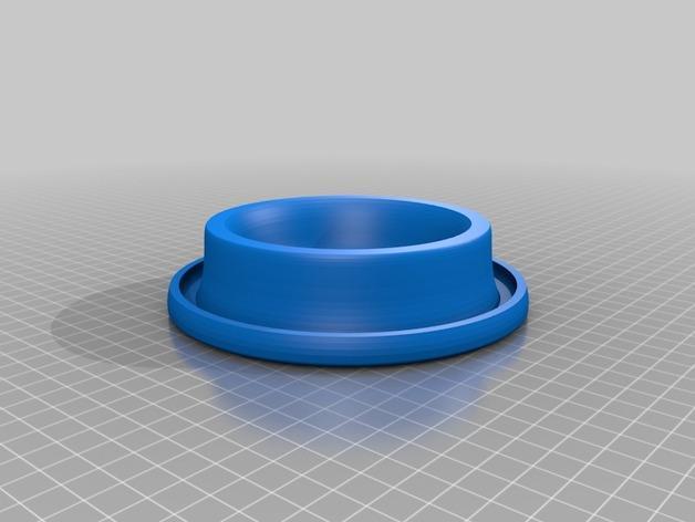 宠物餐盆 3D模型  图2