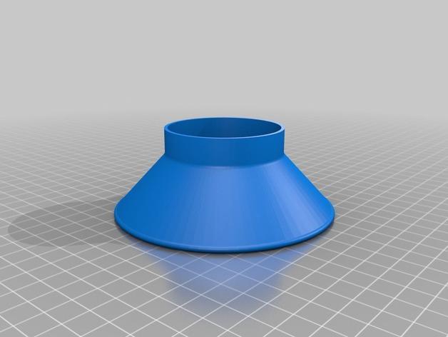 罐头瓶漏斗 3D模型  图2