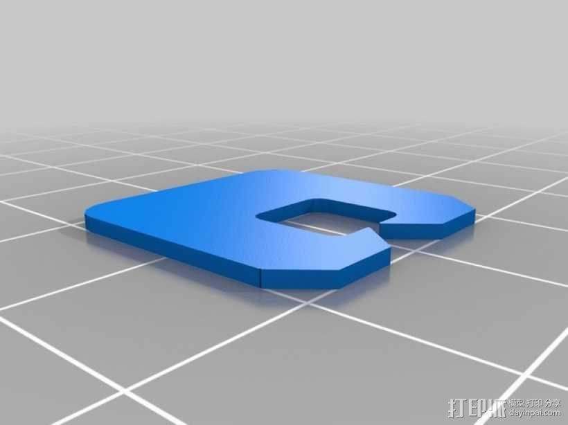 面包袋夹 3D模型  图5
