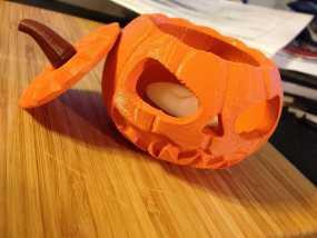 迷你南瓜灯 3D模型