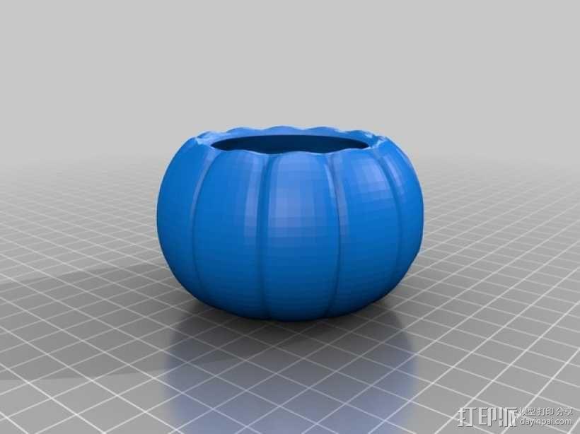 迷你南瓜灯 3D模型  图3