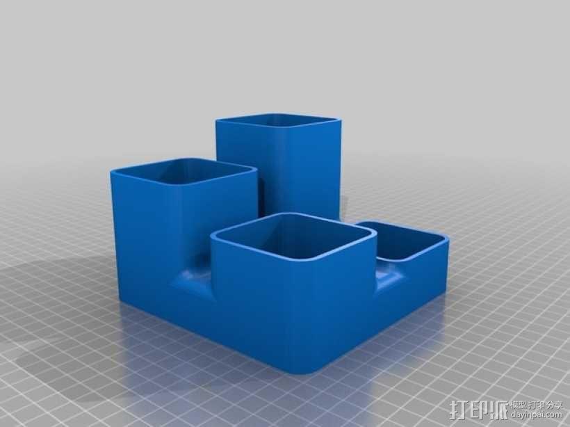 零碎杂物收纳盒 3D模型  图3