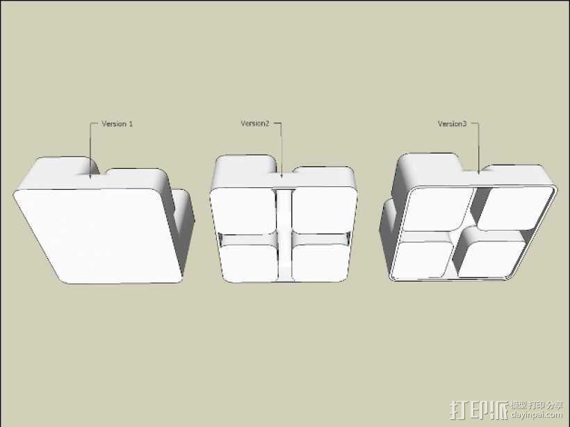 零碎杂物收纳盒 3D模型  图6