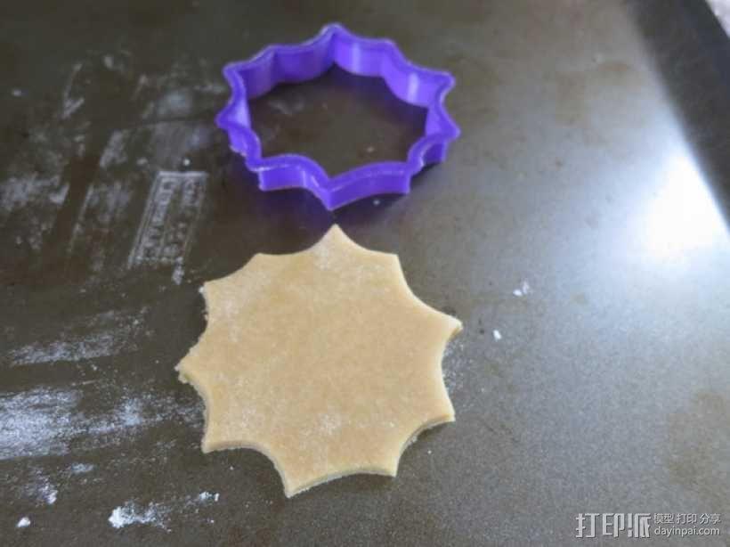 万圣节饼干模具切割刀 3D模型  图7