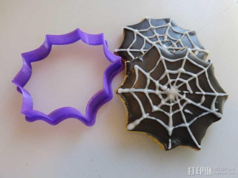 万圣节饼干模具切割刀 3D模型  图10