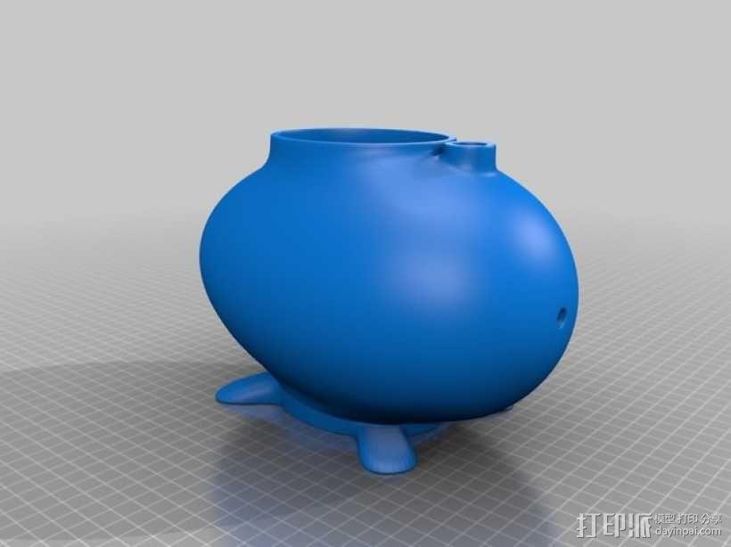 个性化鸟笼2.0 3D模型  图3