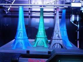 艾菲尔铁塔形花瓶 3D模型