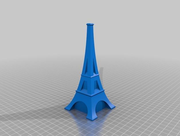 艾菲尔铁塔形花瓶 3D模型  图4