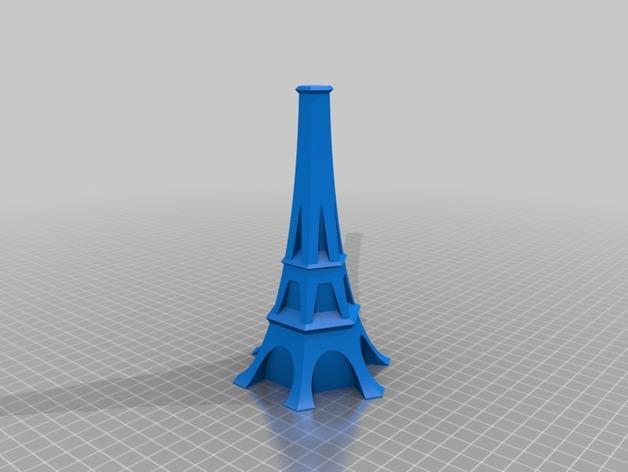 艾菲尔铁塔形花瓶 3D模型  图6