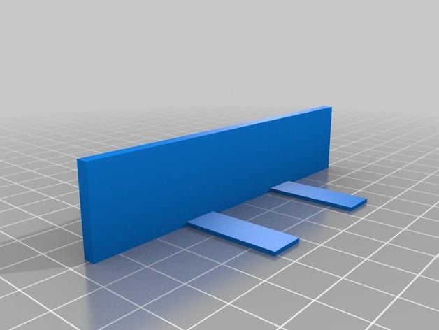 迷你锡罐分隔板 3D模型  图3