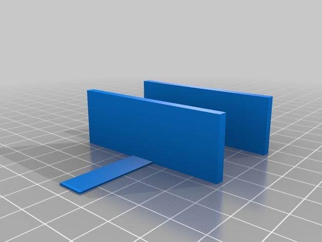 迷你锡罐分隔板 3D模型  图2