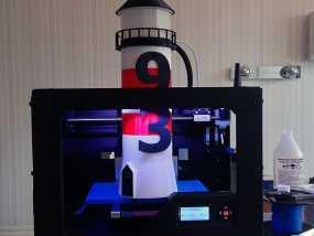 迷你数字灯塔 3D模型