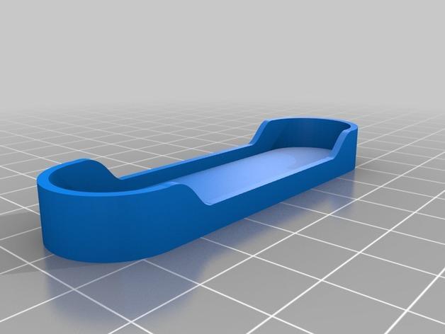 AA电池电池盒 3D模型  图3