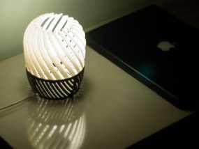 螺旋形灯罩 3D模型