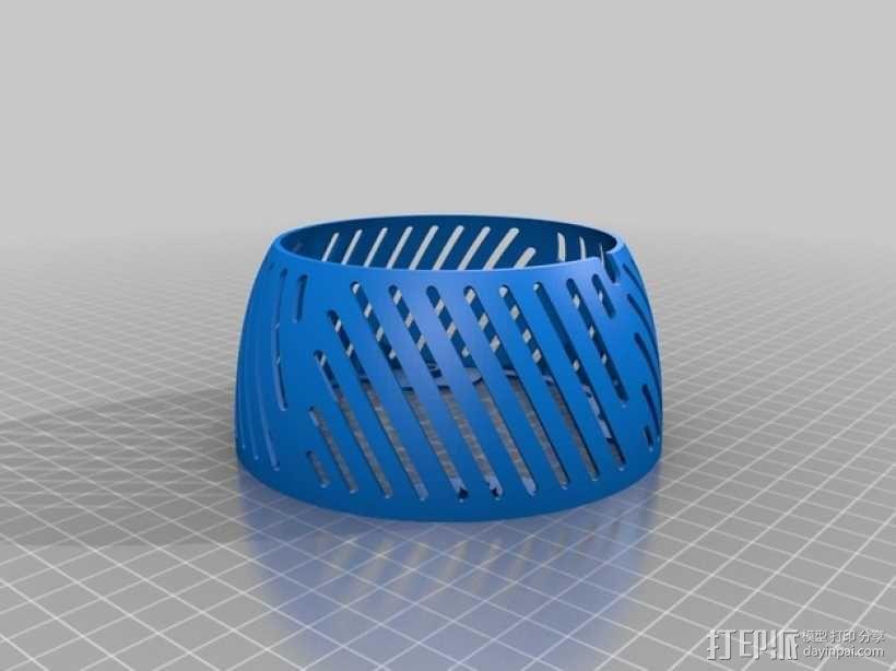 螺旋形灯罩 3D模型  图8
