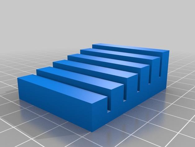信用卡夹/名片夹 3D模型  图1