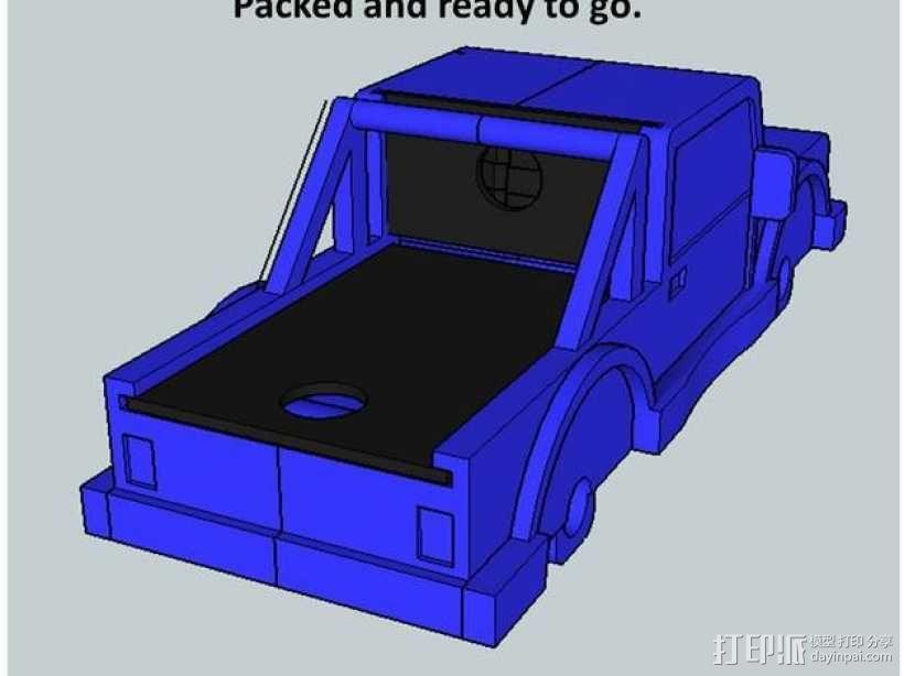 卡车形文具盒 3D模型  图8