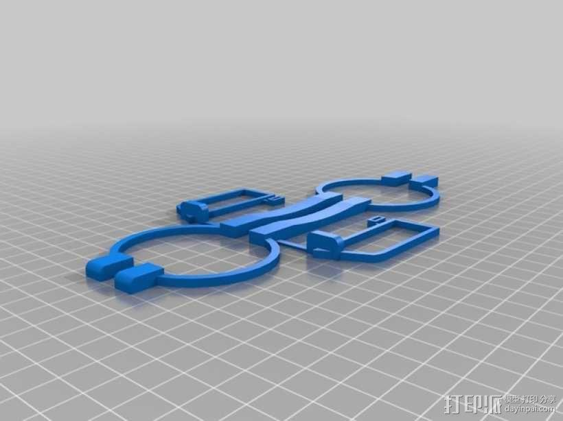 卡车形文具盒 3D模型  图11
