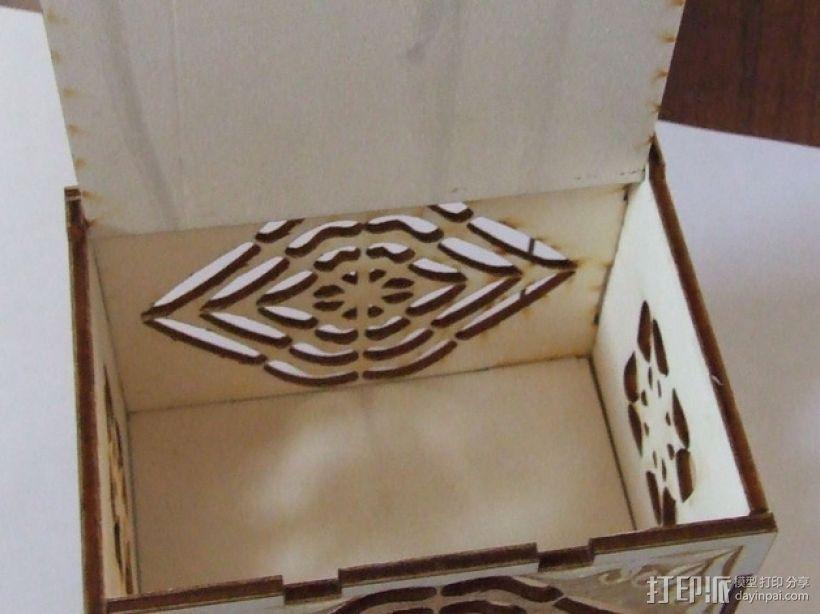 激光切割藏宝箱 3D模型  图5