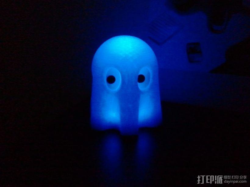 迷你幽灵灯具 3D模型  图1