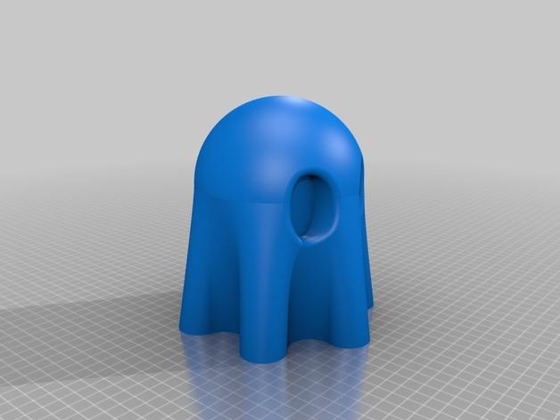 迷你幽灵灯具 3D模型  图4