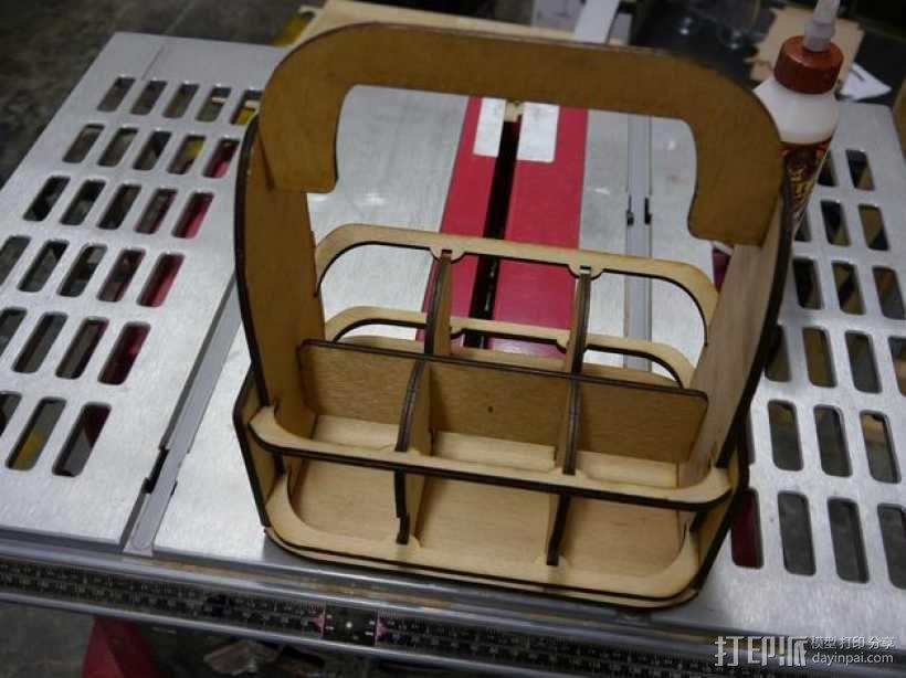 啤酒架 3D模型  图1