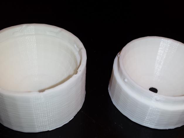 定制化圆形冰块模具 3D模型  图3