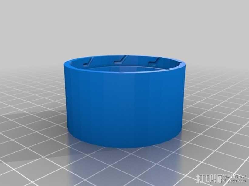定制化圆形冰块模具 3D模型  图5