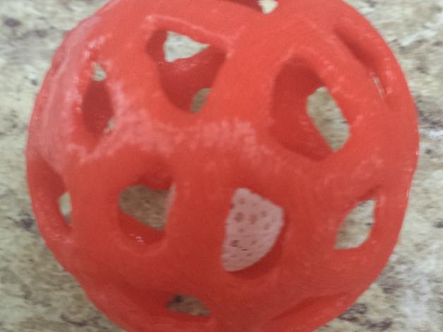 宠物玩具:镂空小球 3D模型  图2