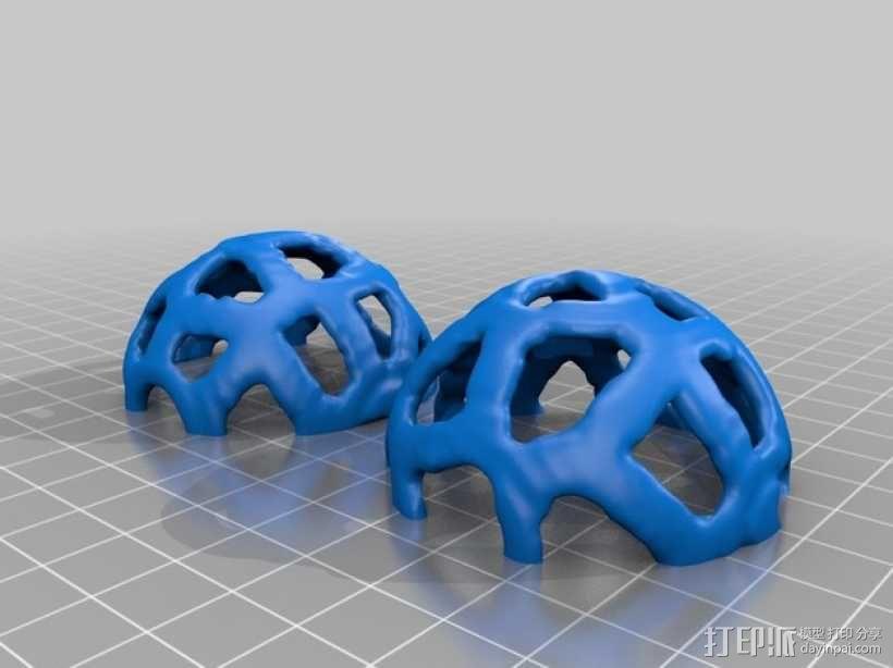 宠物玩具:镂空小球 3D模型  图5