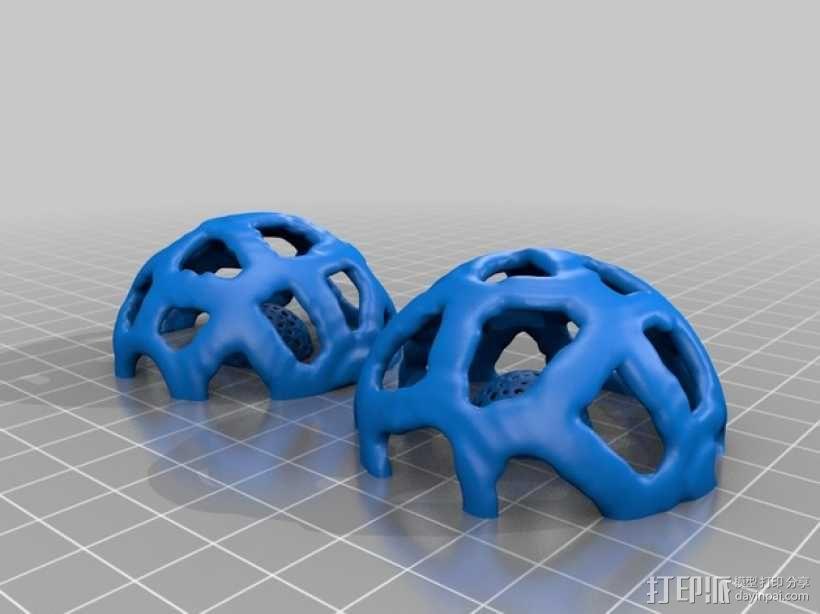 宠物玩具:镂空小球 3D模型  图6
