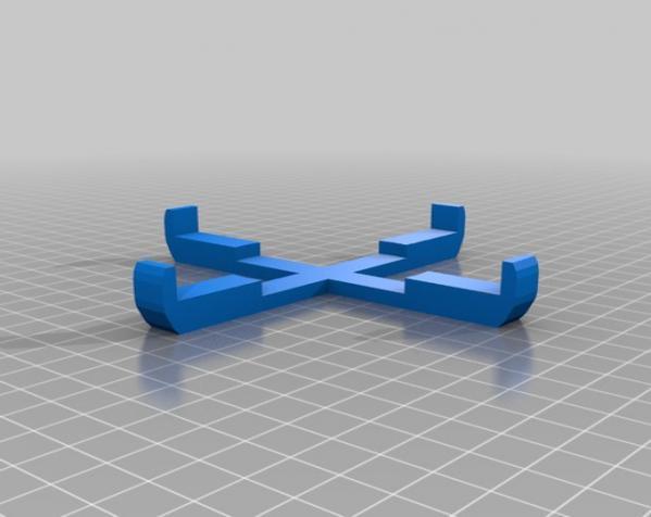 宜家玻璃花瓶底座 3D模型  图2