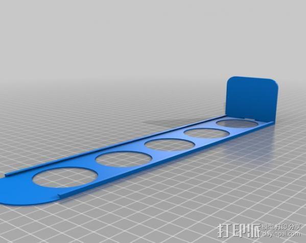 胶囊咖啡架 3D模型  图2