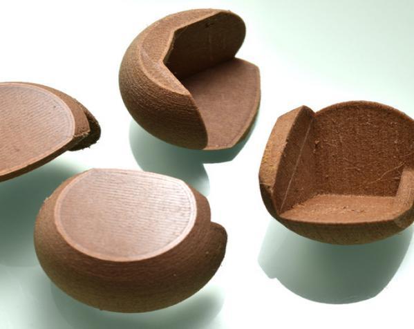 简易圆形桌角套 3D模型  图2