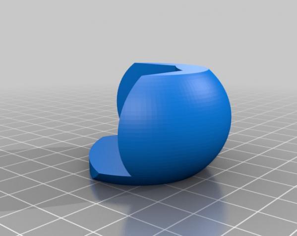 简易圆形桌角套 3D模型  图5