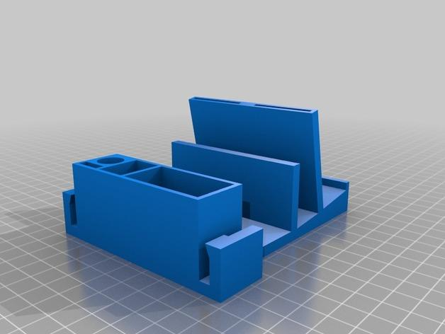 迷你桌面规整架 3D模型  图2