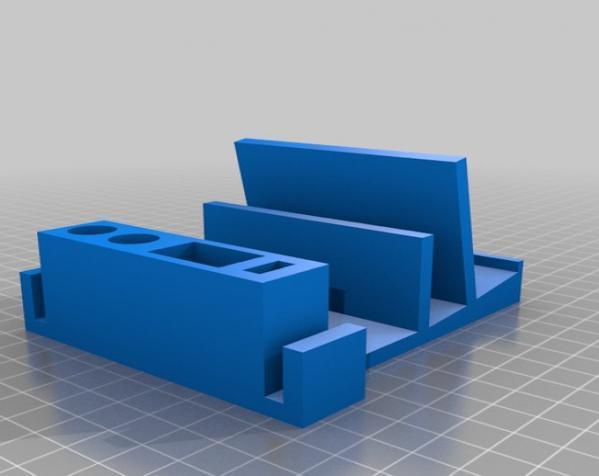迷你桌面规整架 3D模型  图4